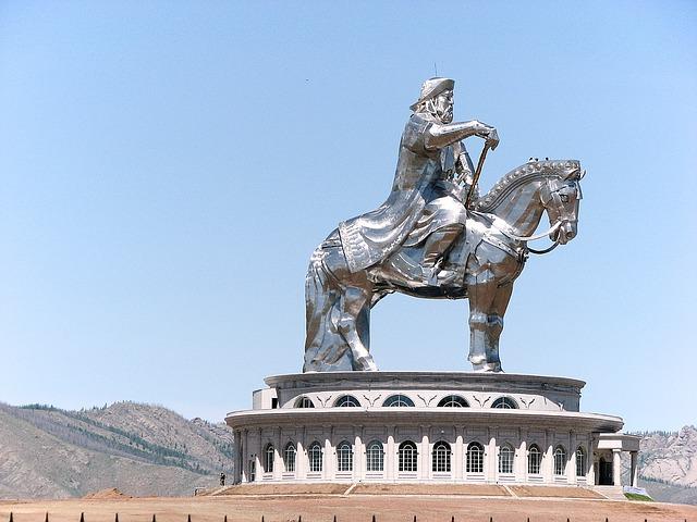 Monument of Chinggis Khaan